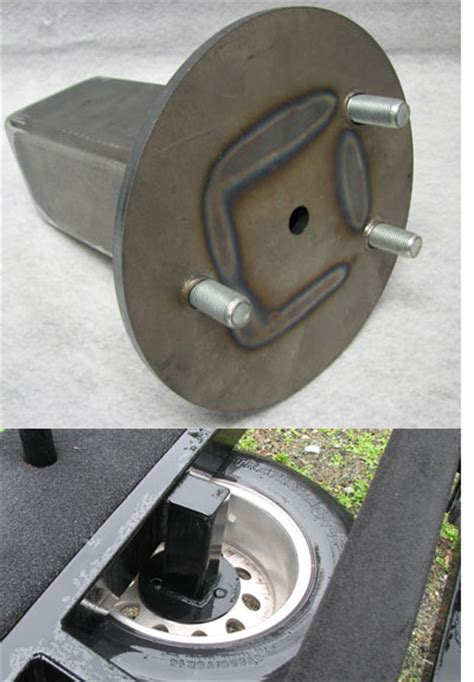Trailer Spare Tire Trailer Spare Tire Carrier Carriage Mount 00 Boat