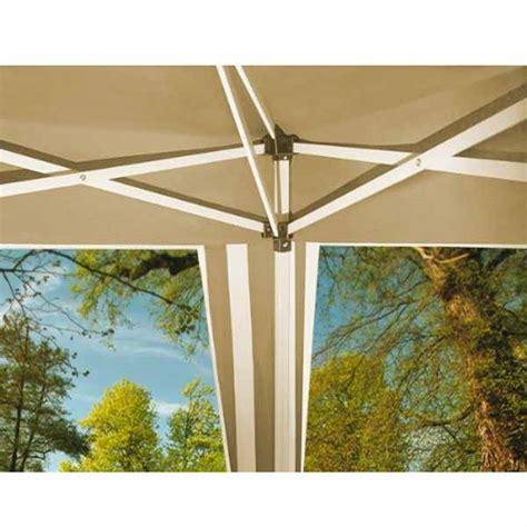 gazebo richiudibile prezzi gazebo richiudibile alluminio colore beige bianco 3 x 3