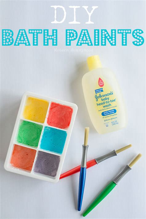 lilbrownhouse diy and crafts diy bath paints modernly