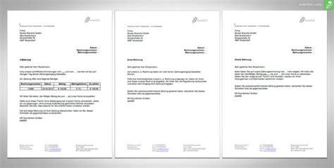 Die Mahnung Muster Mahnungen Muster 4 Dokumente Zum F 252 R Sie Everbill Magazin