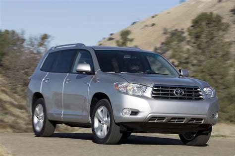 Toyota Highlander 2008 by 2008 Toyota Highlander Pictures Photos Gallery