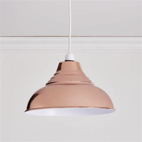 Copper Pendant Light Shades Wilko Vintage Pendant Copper Effect At Wilko