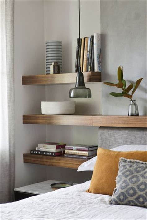 bedroom wall shelves best 25 floating shelves bedroom ideas on pinterest