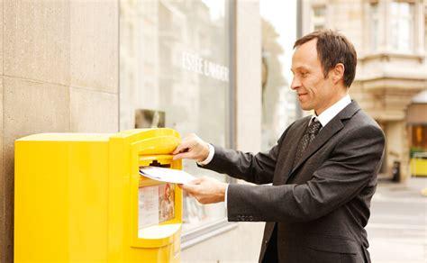 Post Schweiz Brief Inland Beleglose Nachnahme Die Post