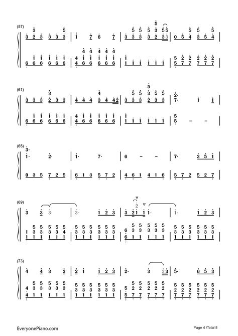 ed sheeran perfect piano chords perfect ed sheeran numbered musical notation preview 4