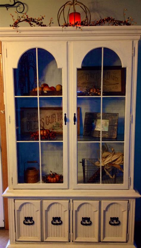 China Cabinet Decor by Fall Decor China Cabinet China Cabinet Decor In And