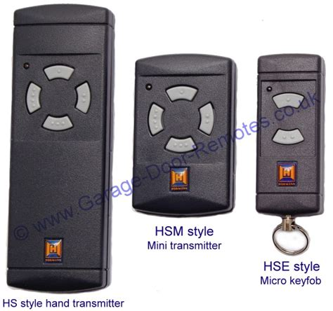 hormann garage door openers hormann 40mhz remote transmitters