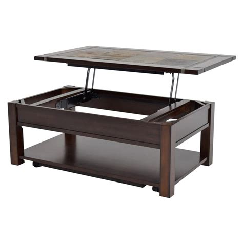 lift top coffee table with wheels roanoke lift top coffee table w casters el dorado furniture