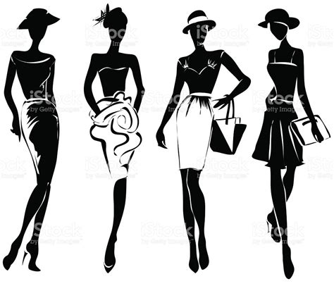 fashion clipart style clipart fashion pencil and in color style clipart