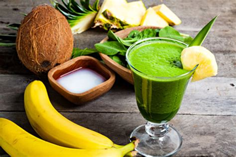 Detox Coconut Smoothies by Winter Detox Coconut Kale Smoothie