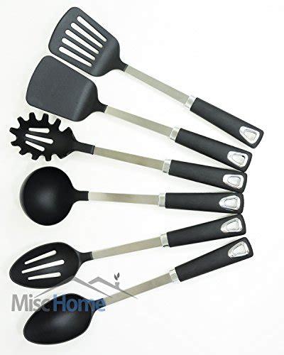 utensils holder 6 pcs stainless steel kitchen utensil