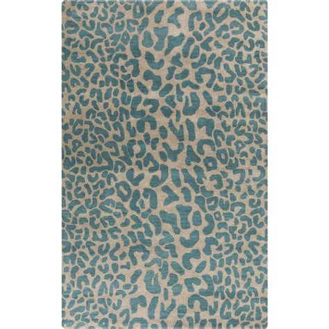 Teal Area Rug 5 X 8 Artistic Weavers Bicauri Teal 5 Ft X 8 Ft Indoor Area Rug S00151003742 The Home Depot