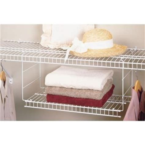 Closetmaid 24 Inch Wire Shelf Closetmaid 24 In Hanging Wire Shelf Home The O Jays
