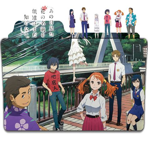 ashintsukuttenara recomendaci 243 n anime anohana