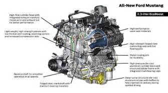 the details the 2015 mustang s new 2 3 liter ecoboost