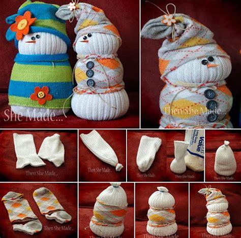 sock snowman directions ideas products diy sock snowmen