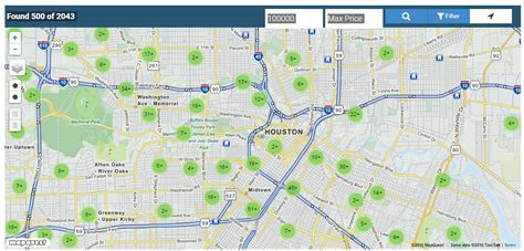 houston real estate map search an interactive map of houston tx real estate lis