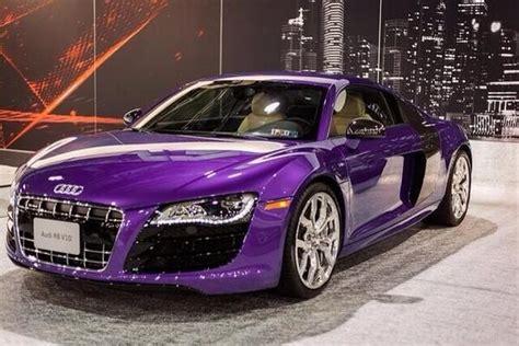 Purple Audi R8 by Glossy Purple Audi R8 Cars The