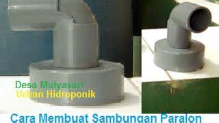 Penutup Pipa Bulat Hidroponik 3 tips murah menyambung pipa pvc