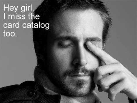 ryan gosling likes the library library shenanigans