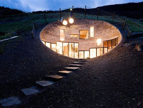 incredible house incredible underground residence in switzerland freshome com