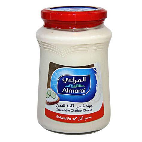 Almarai Spreadable Cheddar 500gram almarai cheddar cheese spread rf 500g price from danube in