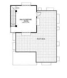 floor plan with roof plan maryanne one storey with roof deck shd 2015025 pinoy