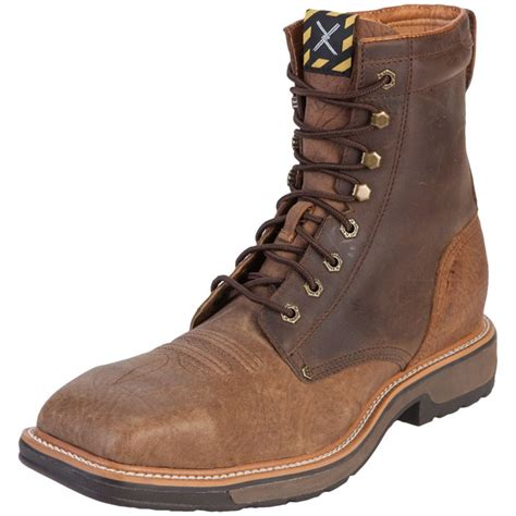 shop s twisted x distressed shoulder steel toe lite