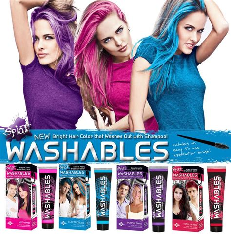 how to get splat hair dye out of hair splat hair dye review instructions haircolortrends