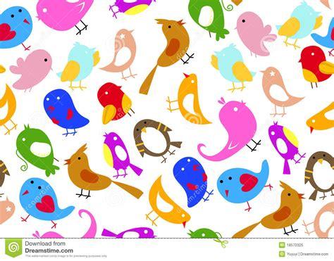 Decorative Owls seamless bird wallpaper royalty free stock photo image