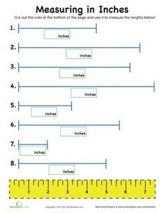 3rd Grade Measurement Worksheets by Measurement Mania Centimeters Inches Worksheets And
