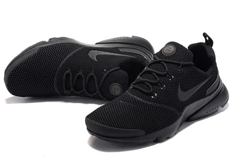 all black walking shoes nike air presto fly uncage all black running walking shoes