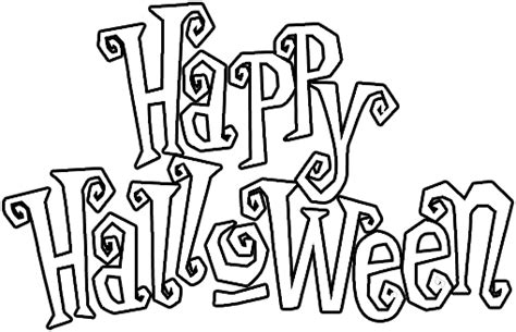 imagenes de halloween sin color carteles de happy halloween para imprimir y pintar