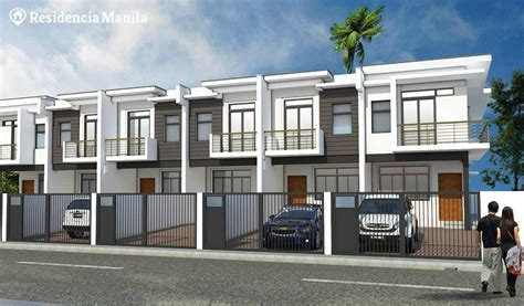townhouse or house bf homes las pinas prime townhouse unit 3 residencia