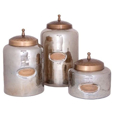 silver kitchen canisters copper silver canisters home inspriration pinterest