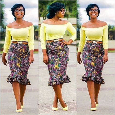 pictures of skirt sown with ankara material 20 best images about ankara skirts on pinterest african