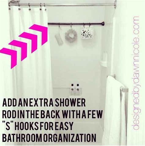 Apartment Bathroom Hacks 17 Best Ideas About Shower Storage On Bathroom