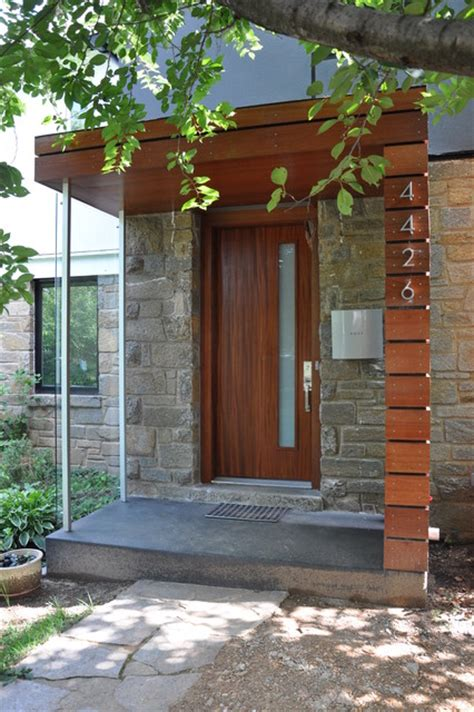 modern house porch cavalcanti entry porch modern porch dc metro by
