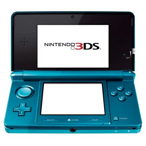 3ds nintendo console nintendo 3ds console aqua blue consoles zavvi