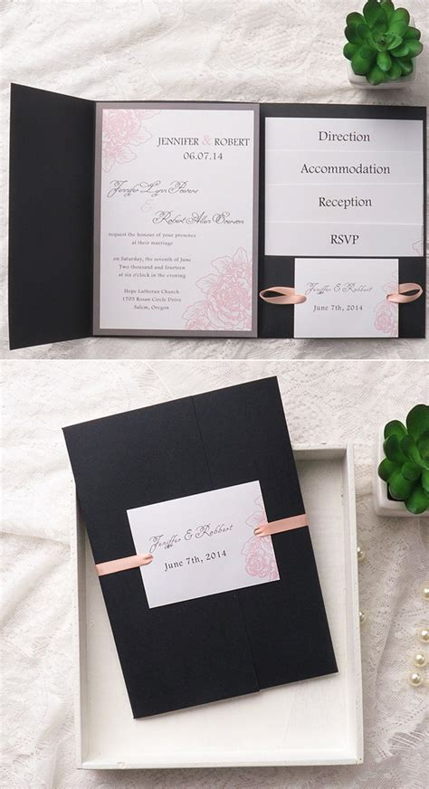 30 wedding invitation card design ideas