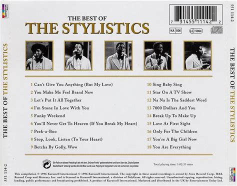 the the index of caratulas t the stylistics