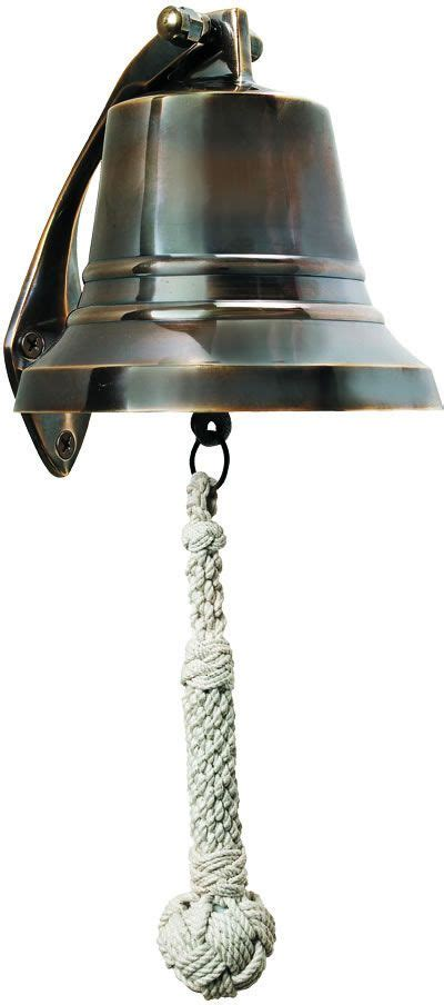 Nautical Solid Brass Ships Bell Nautical And Coastal Decorating