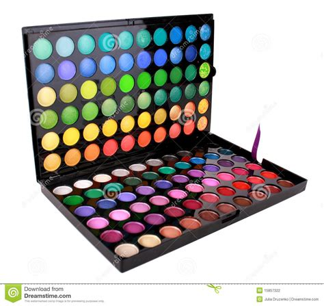Pallet Make Up Inez beautiful make up artist eyeshadow colour palette stock