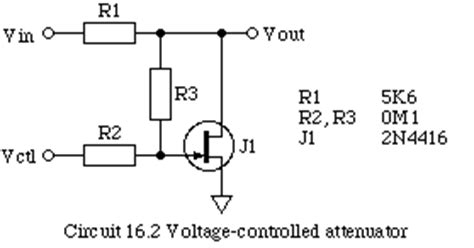 fet as voltage controlled resistor voltage controlled resistor fet 28 images patent us6356154 fet based linear voltage