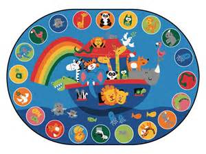 noah s voyage circletime rug 6 9 quot x 9 5 quot oval 80006