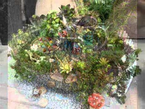 backyard fairy garden ideas fairy garden ideas i fairy garden accessory ideas youtube