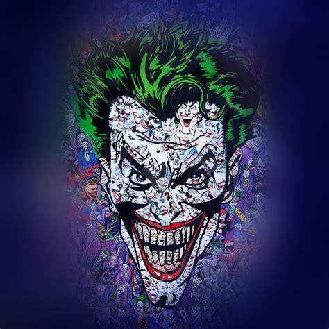 au joker art face illustration art wallpaper