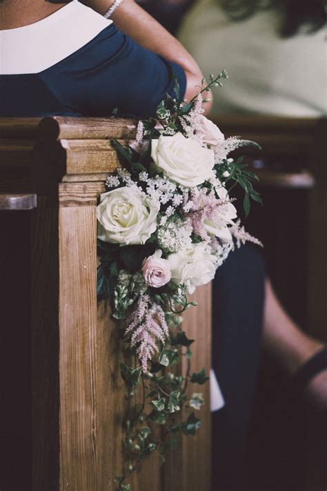 Pew Flowers For Weddings by Blush Pink Marquee Wedding With Lhuillier