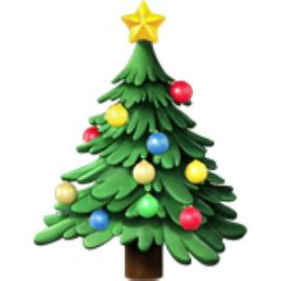 christmas lights emoji tree emoji u 1f384