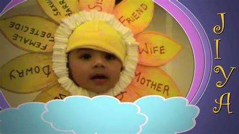 Themes On Save Girl Child | jiya gugaliya s 1st fancy dress competition youtube